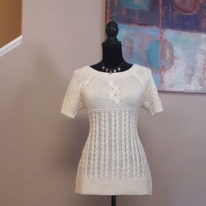 New Directions Petite/Cream/ Sweater